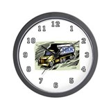 Milk Truck Driver Wall Clock