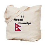 #1 Nepali Grandpa Tote Bag
