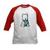 Winter Scarf Westie Tee