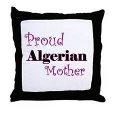 Proud Algerian Mother Throw Pillow