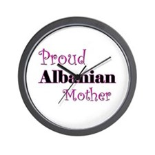 Proud Albanian Mother Wall Clock