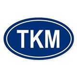 TKM Oval Decal