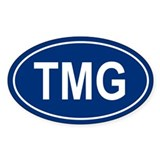 TMG Oval Decal