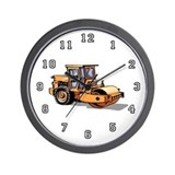 Heavy Equipment Operator Wall Clock