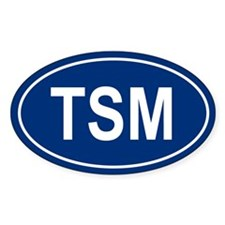 TSM Oval Decal