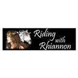 Riding with Rhiannon Bumper Bumper Sticker