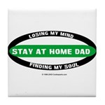 Stay at Home Dad Tile Coaster