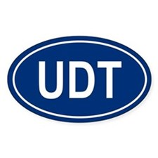 UDT Oval Decal