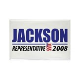 Jackson 2008 Rectangle Magnet (10 pack)