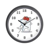 Toothache Wall Clock for Dentist or Hygienist