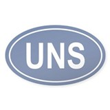 UNS Oval Decal