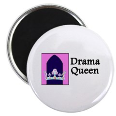 """Drama Queen 2.25"""" Magnet (10 pack)"""