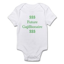 Future Gajillionaire Infant Bodysuit