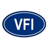 VFI Oval Decal