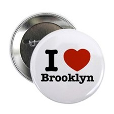 "I love Brooklyn 2.25"" Button (10 pack)"