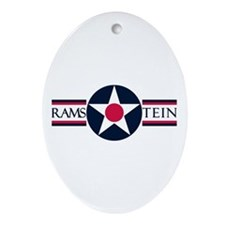 Ramstein Air Base Oval Ornament