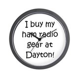 Buy My Gear At Dayton Wall Clock