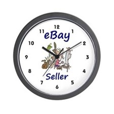 eBay Seller Wall Clock