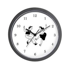 Retro Dancer Wall Clock