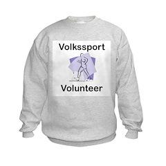 Volkssport Volunteer Kids Sweatshirt