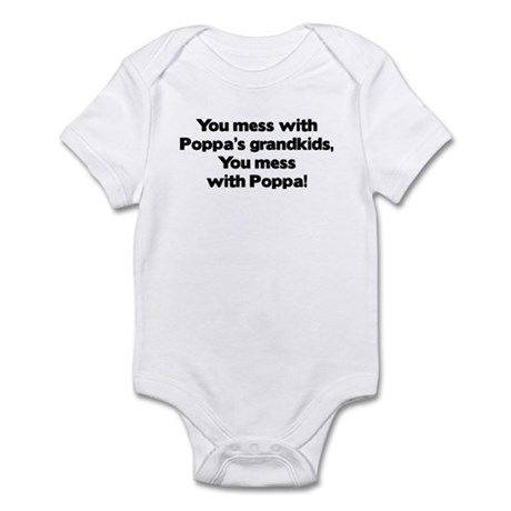 Don't Mess with Poppa's Grandkids! Onesie