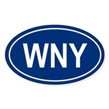 WNY Oval Decal