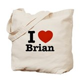 I love Brian Tote Bag