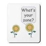 What's your zone? Mousepad