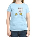 What's your zone? Women's Light T-Shirt