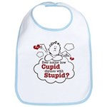 Anti-Valentine's Day Stupid Cupid Bib