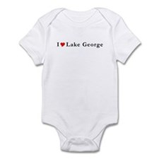 I Heart Lake George NY Infant Bodysuit