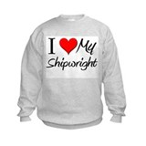I Heart My Shipwright Sweatshirt