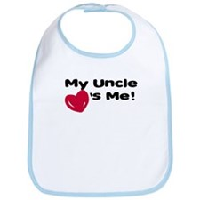 Uncle loves me Bib