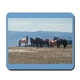 """Wild Horses Over Wyoming"" Mousepad"