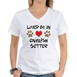 Loved By An English Setter  Shirt