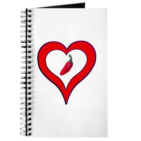 Red Hot Pepper Valentine Journal