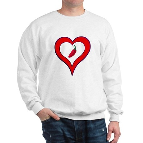 Red Hot Pepper Valentine Sweatshirt