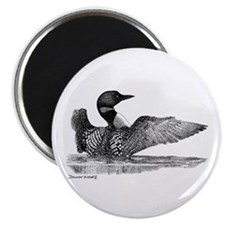 "Painted Loon 2.25"" Magnet (100 pack)"