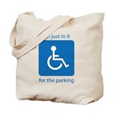 Handy Cap Parking Tote Bag