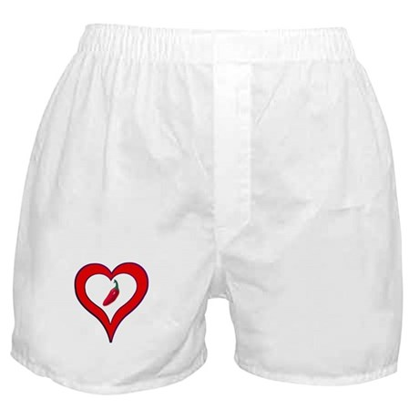 Red Hot Pepper Valentine Boxer Shorts