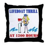 Boat gifts Throw Pillow
