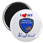 Police Boyfriend 2.25&quot; Magnet (10 pack)