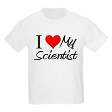 I Heart My Scientist T-Shirt