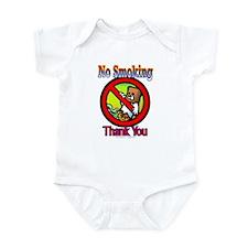 No Smoking Thank You Infant Creeper