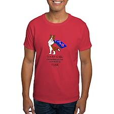 Super Border Collie-red T-Shirt