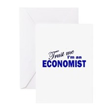 Trust Me I'm An Economist Greeting Cards (Pk of 10