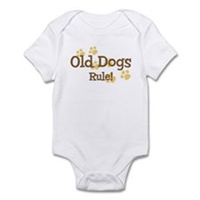 Old Dogs Rule Infant Bodysuit