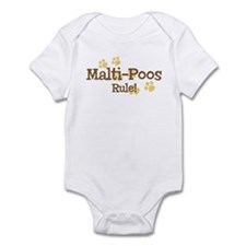 Malti-Poos Rule Infant Bodysuit