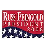 Russ Feingold for President (8 Postcards)