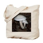 White Mushrooms Tote Bag